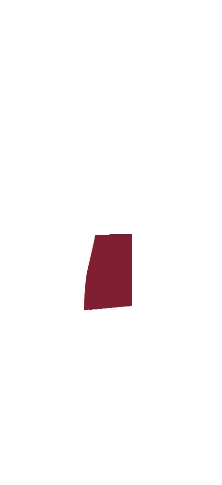 Skizze eines CULT BEEF Rinds, die zeigt, wo sich das Beinfleisch befindet.