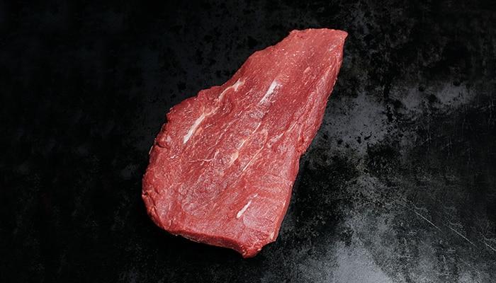 Ein CULT BEEF Flat-Iron-Steak.