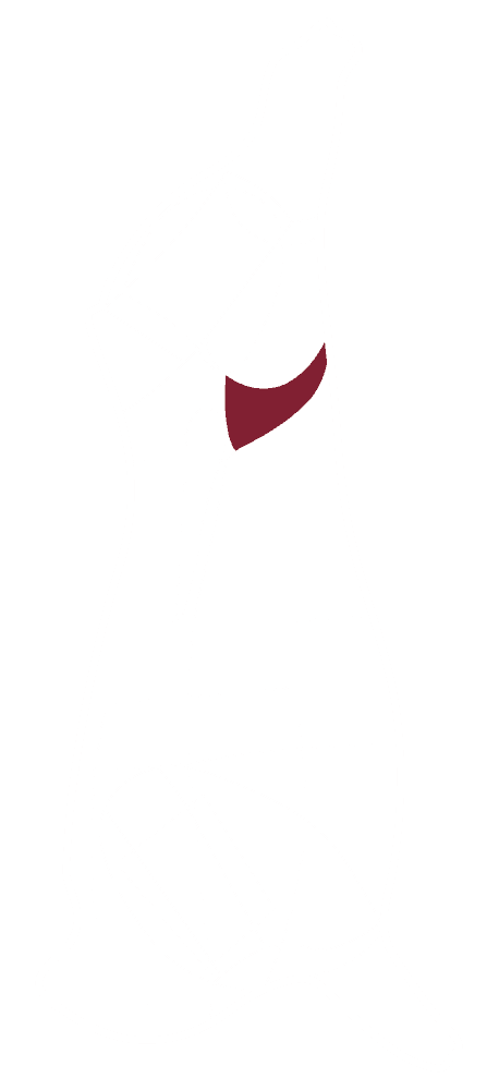 Skizze eines CULT BEEF Rinds, die zeigt, wo sich das Hüferschwanzel befindet.