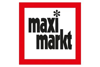 Das Logo von Maximarkt.