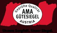 Das AMA-Gütesiegel-Logo.