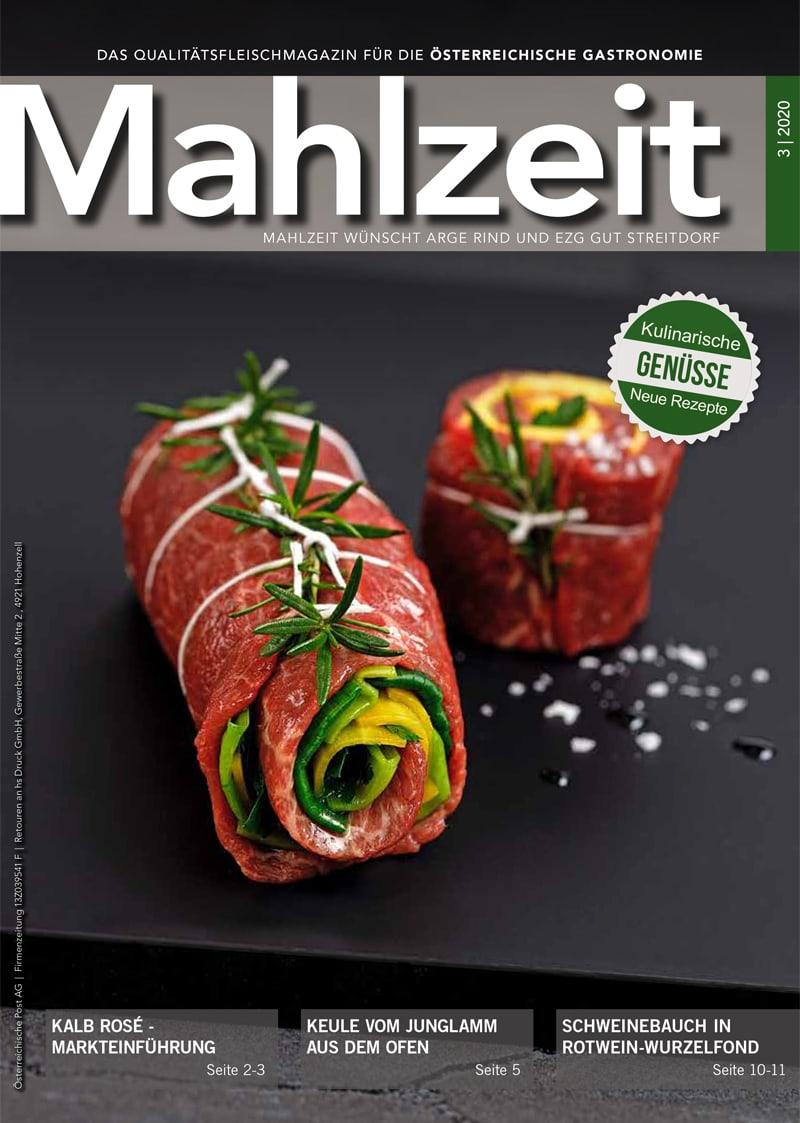 Das Titelbild des aktuellen Mahlzeit-Magazins.